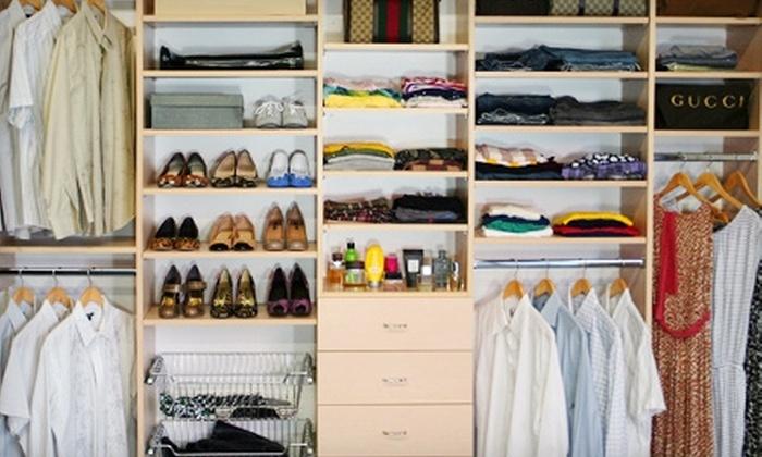 European Closet & Cabinet - New York: $199 for $500 Toward a Custom-Made Closet from European Closet & Cabinet