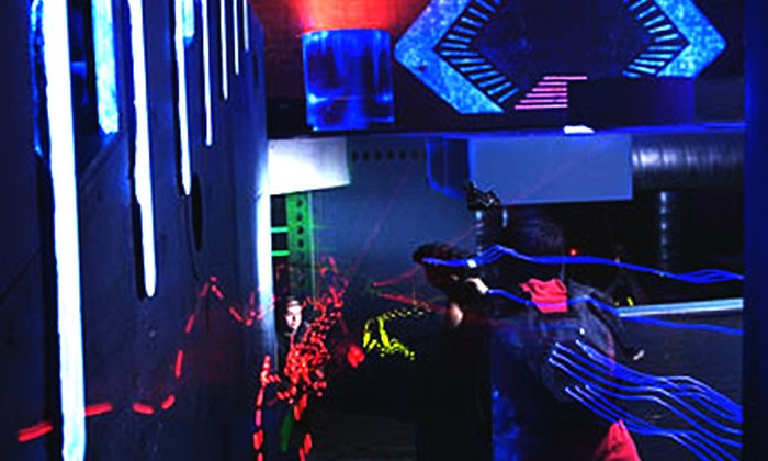 LaserNation or Ultrazone - Multiple Locations: All-Day or All-Night Pass to LaserNation in Sterling or UltraZone in Baltimore