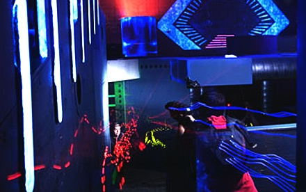 2 All-Night Passes (a $24 value) - LaserNation or Ultrazone in Sterling