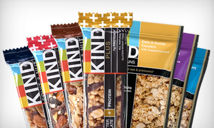 KINDsnacks.com: $10 for $25 Worth of Healthy Snacks from KINDsnacks.com