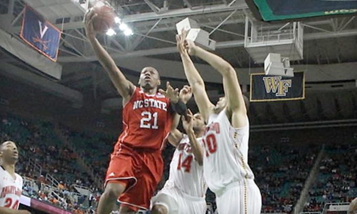 NC State University Men's or Women's Basketball - Southwest Raleigh: One Ticket to Six Non-Conference NC State Men's Basketball Games or One Season Ticket to Women's Home Games (Half Off)
