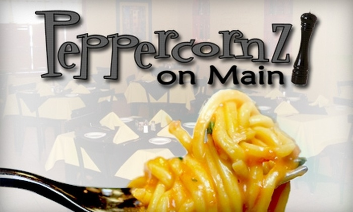 Peppercornz on Main - Weymouth: $15 for $35 Worth of Italian Dining at Peppercornz on Main