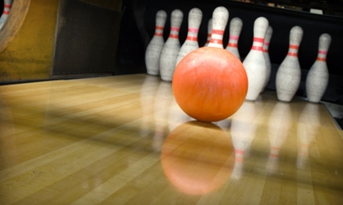 Surf Bowl - Oceanside: $55 for a Family Bowling Package at Surf Bowl in Oceanside ($134 Value)