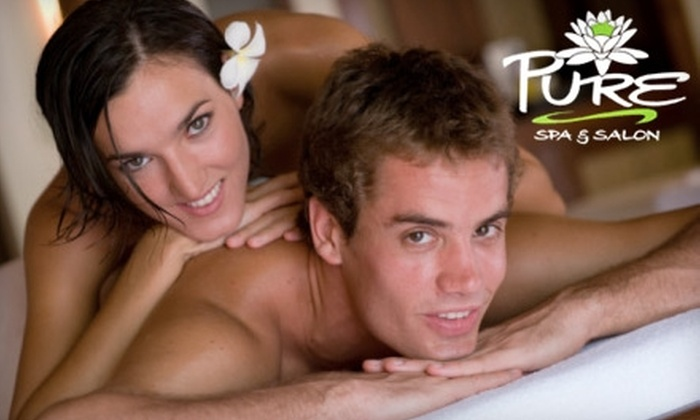 Pure Spa and Salon - Norcross: $75 for a Two-Hour Couples' Massage Class at Pure Spa and Salon in Norcross