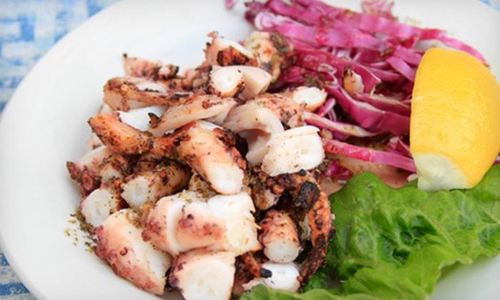 Pegasus Restaurant and Taverna - Greektown: $20 for $40 Worth of Greek Cuisine at Pegasus Restaurant and Taverna
