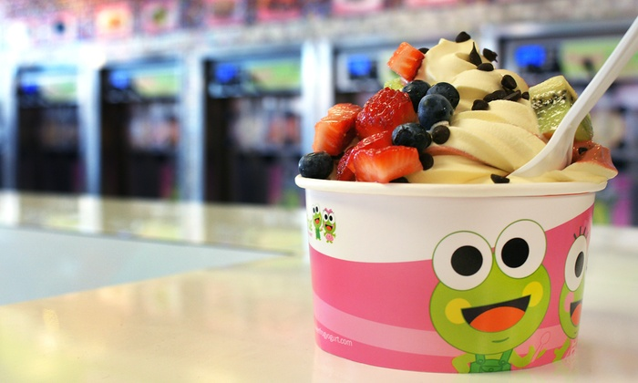 Sweet Frog Premium Frozen Yogurt - Multiple Locations: $12 for Four Groupons, Each Good for $5 Worth of Yogurt at Sweet Frog Premium Frozen Yogurt ($20 Value)