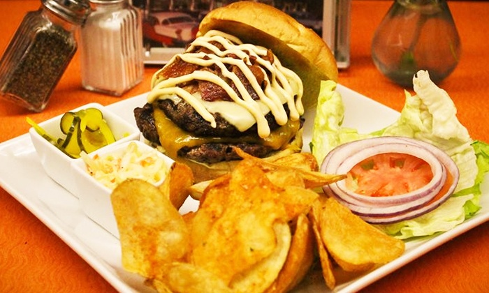 Al Mac's Diner - Fall River: Classic Diner Fare at Al Mac's Diner (40% Off). Two Options Available.
