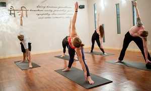 The River: 10 Yoga Classes or One Month of Unlimited Classes at The River (Up to 50% Off)