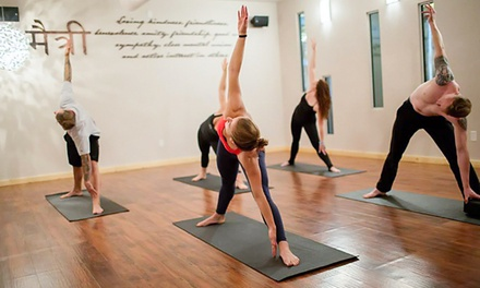 10 Yoga Classes or One Month of Unlimited Classes at The River (Up to 50% Off)