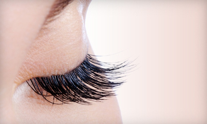 Luxe the Salon - Luxe the Salon: Full Set of Eyelash Extensions with Optional One or Two Touchups at Luxe the Salon (Up to 57% Off)