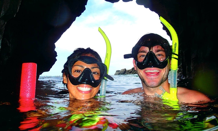 Shoreline Snorkel - Full Face Mask Snorkel: Up to 40% Off Snorkeling Tour at Shoreline Snorkel