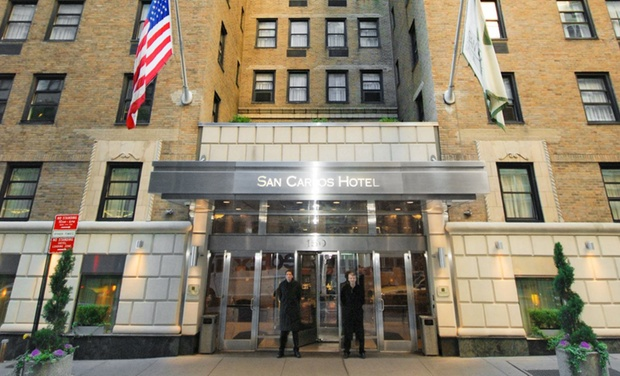 San Carlos Hotel - New York, NY: Stay at San Carlos Hotel in Midtown Manhattan, with Dates into September