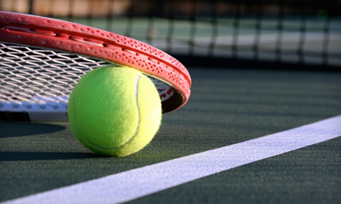 Nebraska Elite Sports and Fitness - Central Omaha: Tennis Court Rental or Sporting Goods at Nebraska Elite Sports and Fitness (Up to 52% Off). Four Options Available.