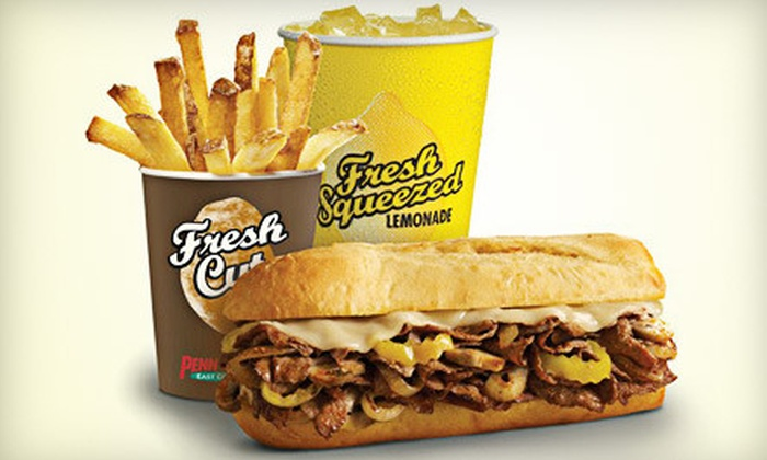 Penn Station East Coast Subs - Madison Park: $7 for $15 Worth of Subs, Fries, and Drinks at Penn Station East Coast Subs