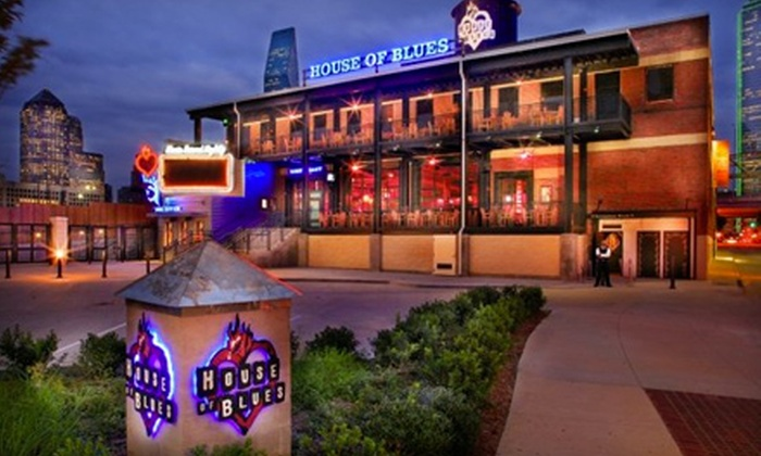 House of Blues - House of Blues Dallas: Southern-Style Dinner for Four or Lunch for Two at the House of Blues