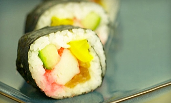Sushi On The Rocks - Downtown Indianapolis: $15 for $30 Worth of Sushi and Sake at Sushi On The Rocks