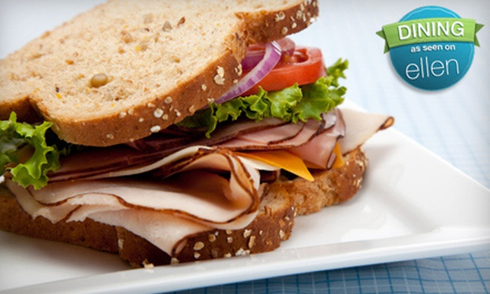 Piccadilly Deli & Sandwich Shop - Modesto: $6 for Sandwiches and Drinks for Two at Piccadilly Deli & Sandwich Shop