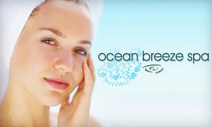 Ocean Breeze Spa - Downtown Vancouver: $75 for a Microdermabrasion and a Mini Facial at Ocean Breeze Spa ($155 Value)
