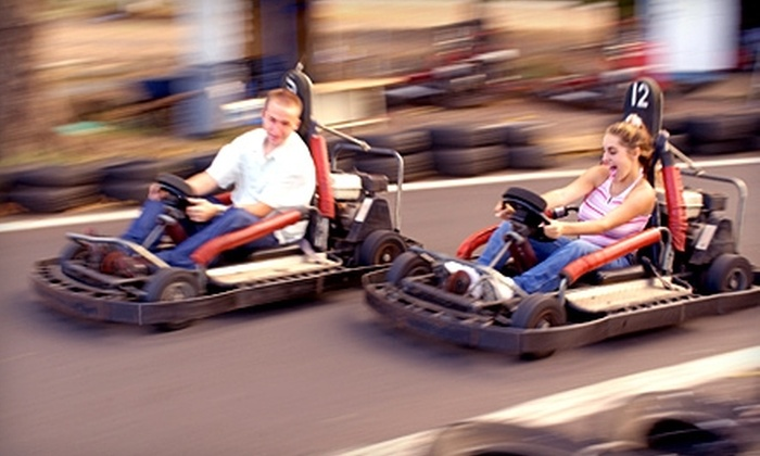 Staten Island Go-Karts - Emerson Hill: $9 for Two Go-Kart Rides and One Round of Mini Golf at Staten Island Go-Karts