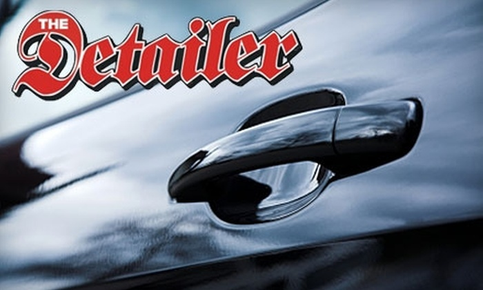 The Detailer - Tulsa: $30 for a Mini-Detail, Wax, and Rain-X Treatment from The Detailer ($70 Value)
