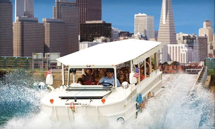 Ride the Ducks - Downtown: $17 Amphibious Tour of San Francisco with Ride the Ducks