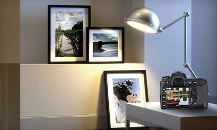 Grapheteria - West Bayside: Custom Framing and Photo Services at Grapheteria (Up to 55% Off). Two Options Available.