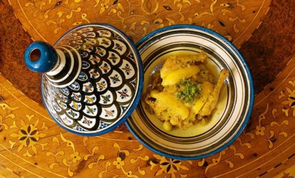 $34 for a Five-Course Moroccan Dinner for Two at Marrakesh Moroccan Restaurant ($43.90 Value)