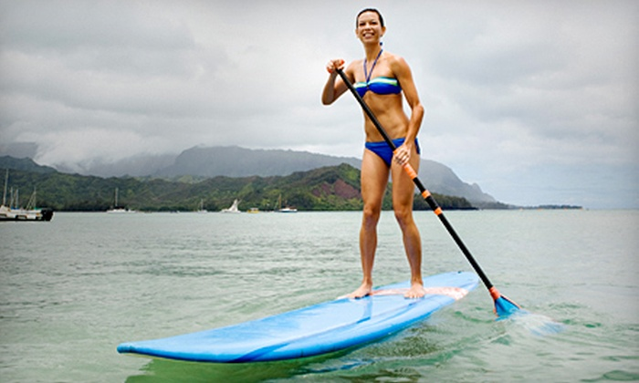 Pinky's Water Sports - El Lago Estates: $29 for a 30-Minute Paddleboarding Lesson and Two-Hour Rental from Pinky's Water Sports on Clear Lake ($62 Value)