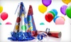 $10 for Party Supplies at Party Warehouse