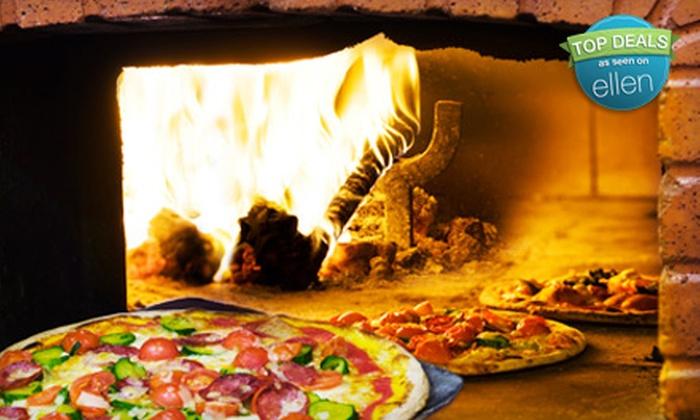 Giovanni's Coal Fire Pizza - Multiple Locations: $15 for $32 Worth of Italian Fare at Giovanni's Coal Fire Pizza