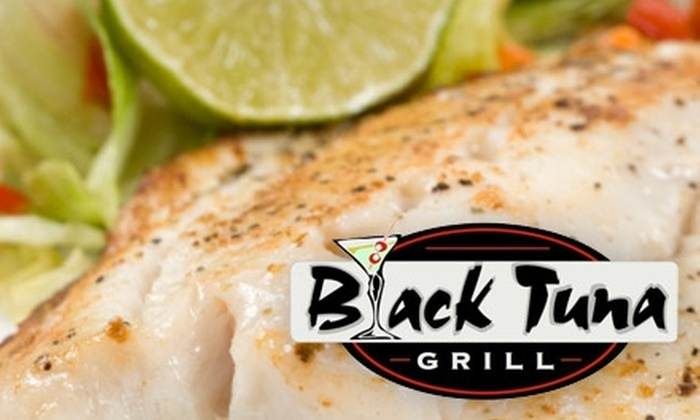 Black Tuna Bar & Grille - Hampton Roads: $15 for $30 Worth of Seafood, Pasta, and Sandwiches at Black Tuna Bar & Grille