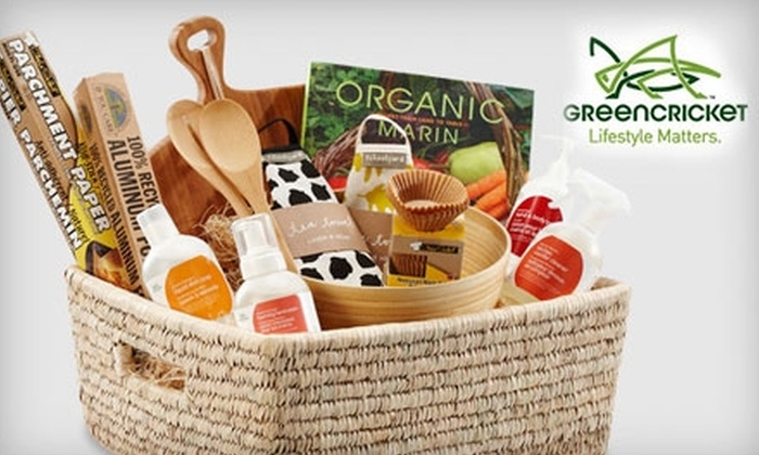 Green Cricket: $25 for $55 Worth of Eco-Friendly Home Goods, Yoga Accessories, Apparel, and More from Green Cricket