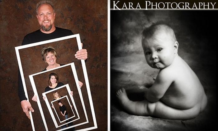 Kara Photography - Erie: $25 for 45-Minute Photo Session and $25 Print Credit at Kara Photography in Erie ($120 Value)