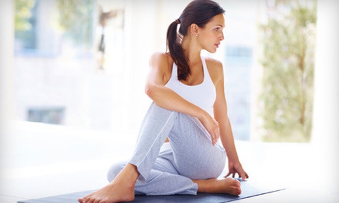 Source Studio - Riverside: One Month of Unlimited Yoga and Fitness Classes or 10 Classes at Source Studio in Riverside (Up to 69% Off)