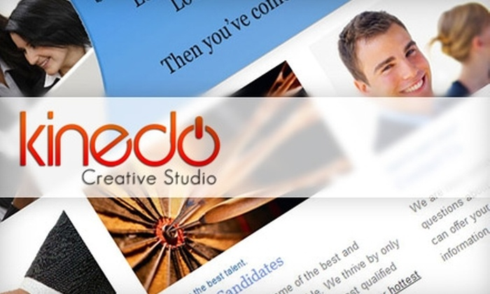 Kinedo Creative Studio - North Jersey: $250 for a New Website or Five-Page Website Redesign from Kinedo Creative Studio ($599 Value)