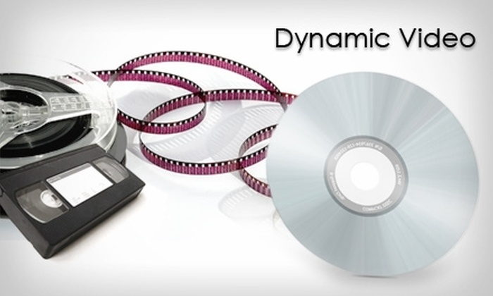 Dynamic Video (a division of AJ Media Services) - Multiple Locations: $20 for $50 Worth of Video Transfer Services from Dynamic Video