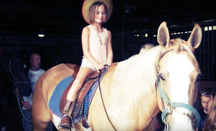 2-Hour Horseback-Riding Birthday Party for 110 Kids (a $225 value) - Linden Hill Stables in Kearney
