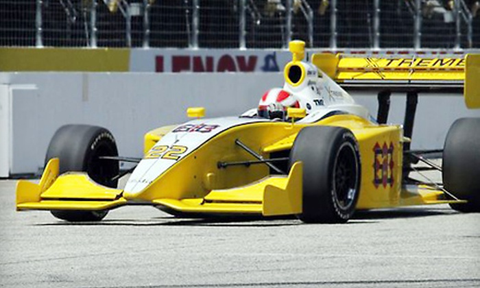 MoveThatBlock.com Indy 225 and Firestone Indy Lights 100 - Loudon: Two or Four Tickets to MoveThatBlock.com Indy 225 and Firestone Indy Lights 100 at New Hampshire Motor Speedway in Loudon on August 14