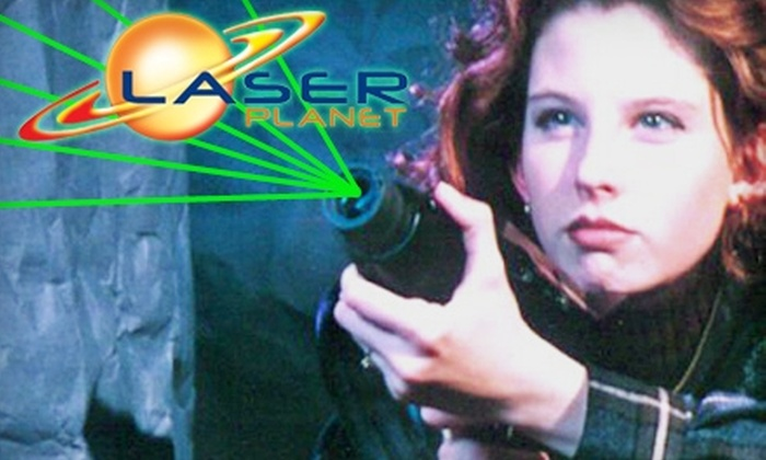 Laser Planet - Waterbury: $8 for Two Games of Laser Tag at Laser Planet in Waterbury ($15 Value)