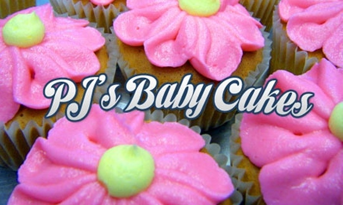 PJ's Baby Cakes - Lincoln: $6 for a Dozen Signature Cupcakes at PJ's Baby Cakes