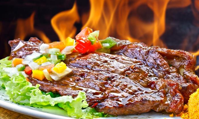 Aires del Plata - Aires Del Plata: Menu argentino con grigliata mista di carne e vino a 44 €