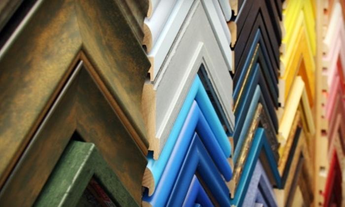Art of Framing - Normal Heights: $40 for $100 Worth of Custom Framing Plus Donation to Animal Safehouse Program at Art of Framing