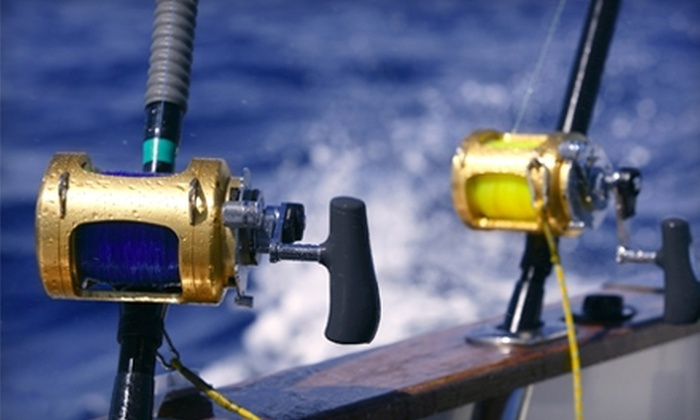 Fish On Board - Fort Lauderdale: $75 for a Four-Hour Fishing Trip From Fish On Board (Up to $199 Value)