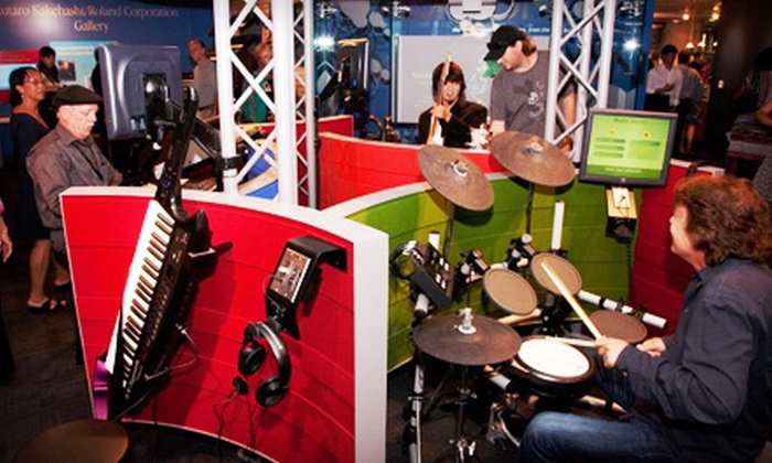Museum of Making Music - Carlsbad: Museum of Making Music Visit for Two Adults, or Two Adults and Two Children in Carlsbad (Up to 69% Off)