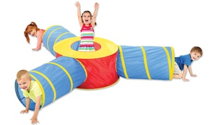 3-in-1 Pop-Up Multicolor Tunnel