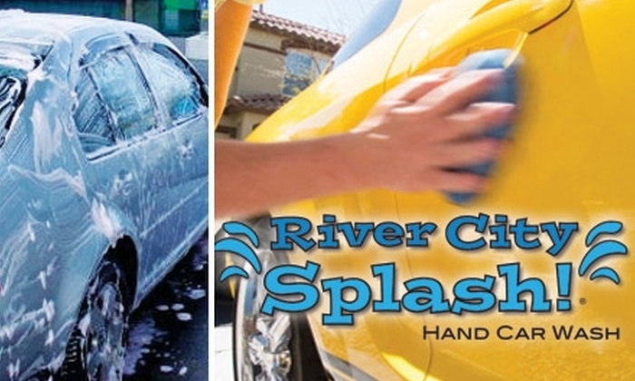 River City Splash - Prospect: $45 for Exterior Car Wash, Wax, and Interior Cleaning at River City Splash (Up to $95 Value)