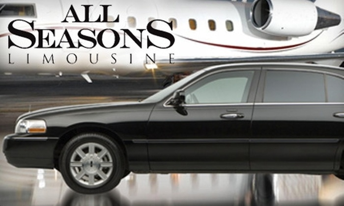 All Seasons Limousine - Houston: Sedan Transportation from All Seasons Limousine. Choose Between Two Options.