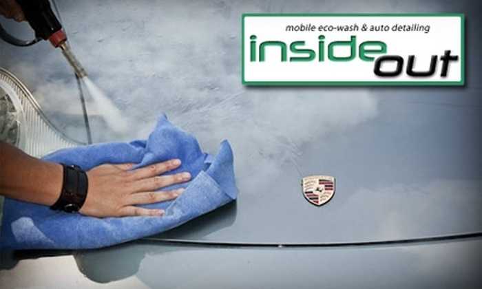 InsideOut - Multiple Locations: Express Detail Car Wash at InsideOut. Choose from Four Options.