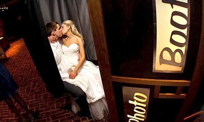 Wedding Photobooth Rental - Wedding Photobooth Rental: $450 for a Three-Hour Photo-Booth Rental from Wedding Photobooth Rental ($1,000 Value)
