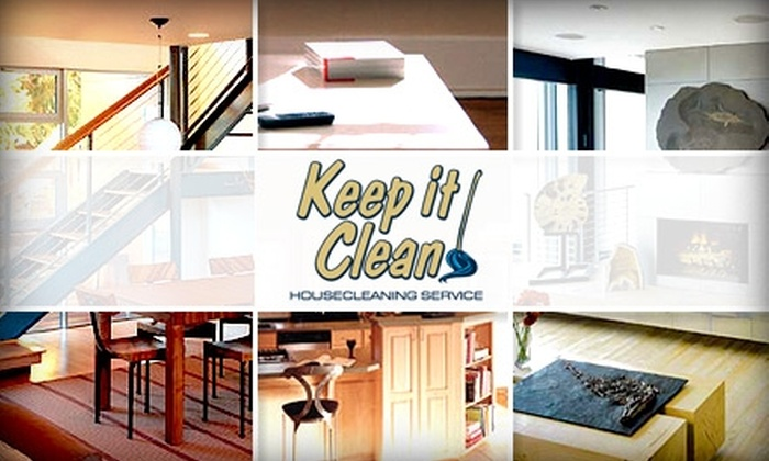 Keep It Clean - Orange County: $49 for Three Hours of House Cleaning from Keep It Clean